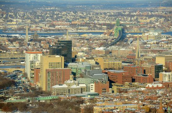 Boston downtown West End district