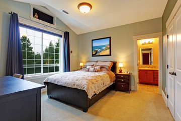 Elegant master bedroom interior