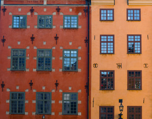 Old Town of Stockholm - Two famous buildings