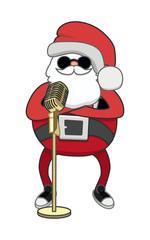 santa sings