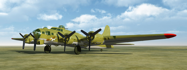 Flying Fortress of World War II