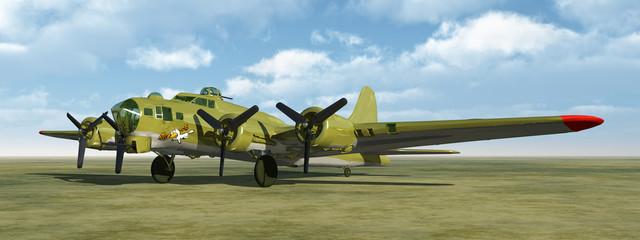 Flying Fortress of World War II