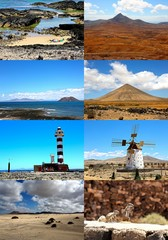 Fuerteventura Collage