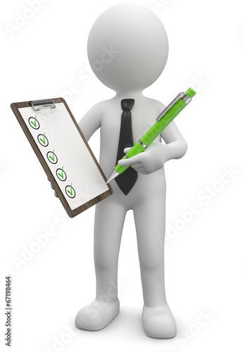 checkliste abhaken stockfotos und lizenzfreie bilder auf bild 67198464. Black Bedroom Furniture Sets. Home Design Ideas