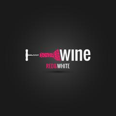 wine cellar bottle design background