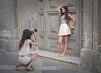 like a photographer