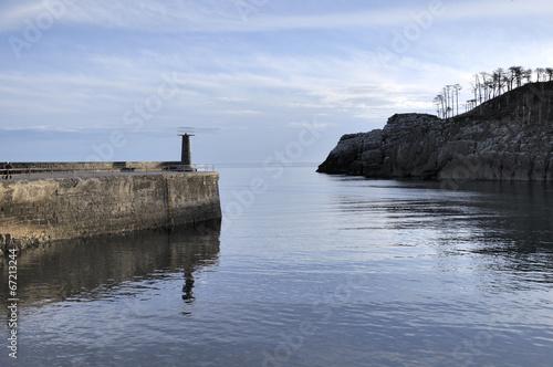 Fototapete Port de Lekeitio