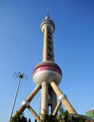 Oriental Perl tower in Shanghai
