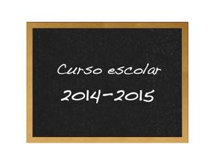 School calendar 2014.
