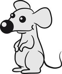 Kleine Niedliche Maus