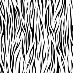 Vector zebra background