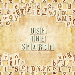 use the search