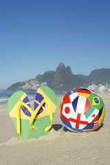 Flip Flops and International Football in Rio