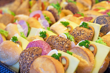 Belegte Brötchen - Snacks - Imbiss