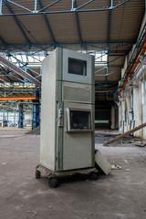 Alter Firmencomputer Fabrik