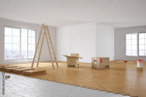 renovierung von zimmer in wohnung stockfotos und lizenzfreie bilder auf bild. Black Bedroom Furniture Sets. Home Design Ideas