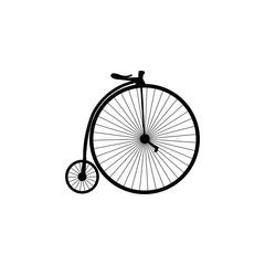 Photo sur Aluminium bicycle symbol