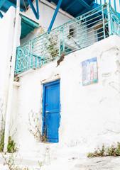 Fototapete - Kykladen - griechische Inseln Baustil