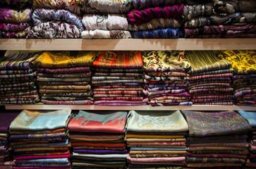 stoffe nel bazar - Istanbul