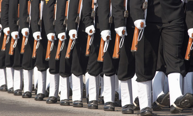 Republic Day Parade in Delhi, India