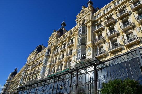 Ancien hôtel Régina à Nice
