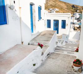 Fototapete - Architektur auf den Kykladen - hier Amorgos