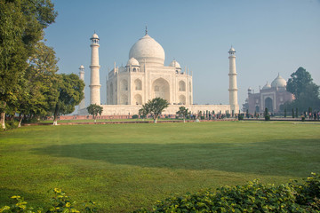 The Taj Mahal Mosque