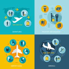 Airport terminal flight services