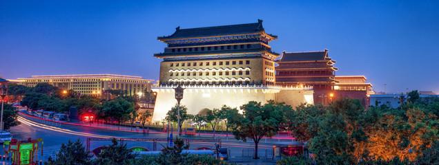 Fotobehang Beijing Qianmen Gate in Beijing