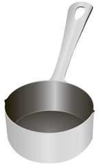 Steel beaker