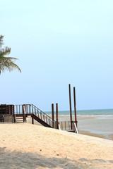 The Cha Am beach of Thailand