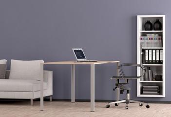 Büro mit Sofa