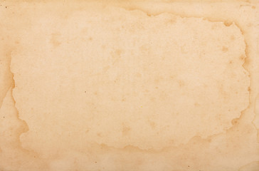 Vintage weathered and yellowed paper texture