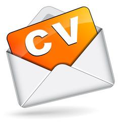 Vector cv envelope