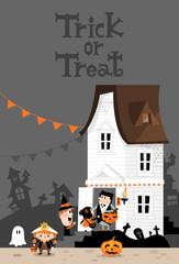 Halloween house A