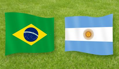 Spiel um Platz 3: Brasilien - Argentinien