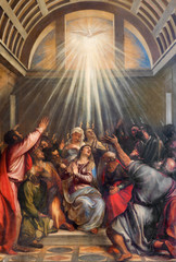 Venice - Descent of the Holy Ghost by Titian