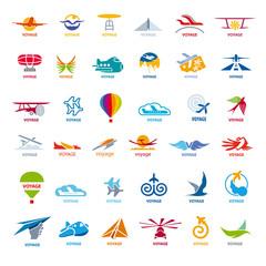 biggest collection of vector logos flights