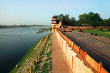 Itmad-Ud-Daulah's Tomb at Agra, Uttar Pradesh, India