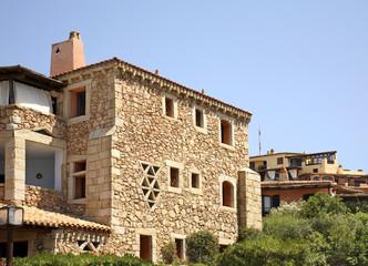House in Porto Cervo. Sardegna. Italia