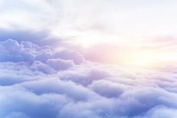 Canvas Prints Heaven Sunny sky background