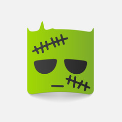 realistic design element: zombie