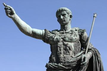 Fototapeta Roman emperor Augustus in Rome, Italy obraz