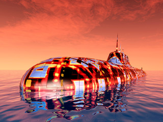 Futuristic Submarine