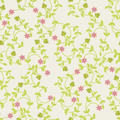 vector seamless  Floral pattern- Illustration
