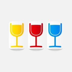 realistic design element: cocktail