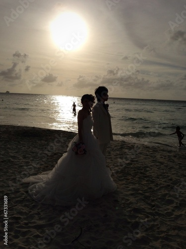 quotbeach wedding in saipanquot stock photo and royaltyfree