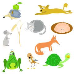 set of vector animals