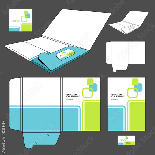 quotfolder template designquot stock image and royaltyfree
