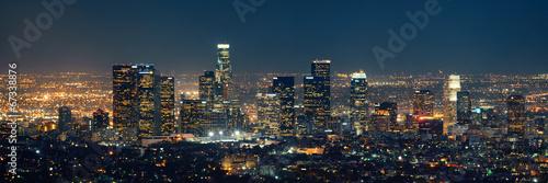 Fototapete Los Angeles at night